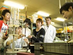 キャンパスライフ 実習 水質実験