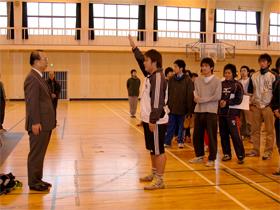 キャンパスライフ 研究室対抗球技大会 選手宣誓