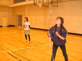 キャンパスライフ 研究室対抗球技大会 バトミントン大会