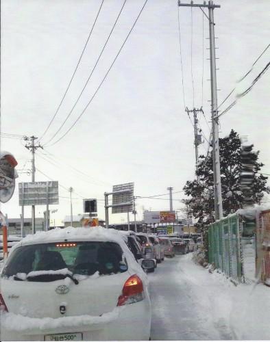 雪の日の朝(Kさん,宮城県)